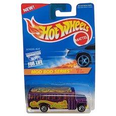 1995 Hot Wheels Car Mod Bod Series 2 or 4 School Bus # 397