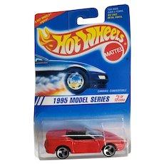 Hot Wheels Car 1995 Model Series #8 of 12 Camaro Convertible # 344