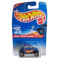 1995 Hot Wheels Car Race Team Series II # 2 or 4 Baja Bug VW Beetle # 393