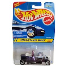 1994 Hot Wheels Car Speed Gleamer Series #2 or 4 T Bucket Purple # 313