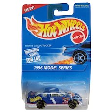 1996 Model Series Hot Wheels Monte Carlo Stocker Car