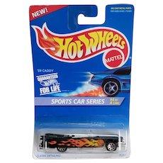 1995 Hot Wheels Sports Car Series #4 or 4 1959 59 Caddy Flaming Basketball
