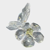 Swarovski Crystal Figurine Butterfly on Flower 840190