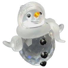 Swarovski Crystal Snowman