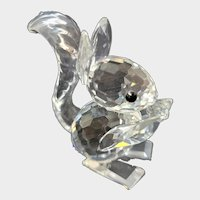 Swarovski Crystal Mini Squirrel Figurine 7662