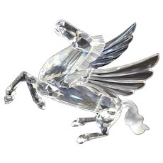 Swarovski 1998 Fabulous Creatures Pegasus Figurine w/ Box