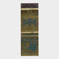 Vintage Bessemer & Lake Erie Railroad CO 1618 Frick Bldg Matchbook Cover