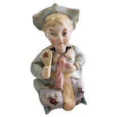 Antique 19th C Conta & Boehm Oriental Nodder Figurine