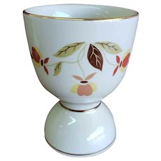 Hall Autumn Leaf Jewel Tea NALCC China Specialties Double Egg Cup