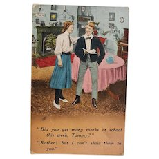 ca1920 Vintage Humor Joke Postcard
