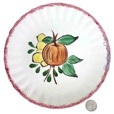 "Blue Ridge Southern Pottery 8 1/2"" Avon Fig Plate"