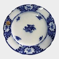 Early 19th C Spode Copeland & Garrett Flow Blue Warming Plate Dish