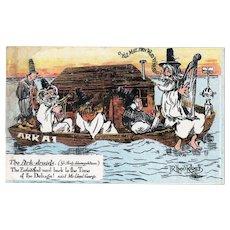 Llythyr Gerdyn Ark Druids Welsh Humor Postcard