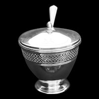 Caviar server in sterling by Tiffany & Co.