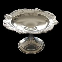 Sterling Chantilly compote candy dish