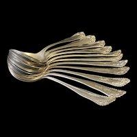 Lancaster bouillon spoons by Gorham