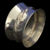 Sterling napkin ring by Towle