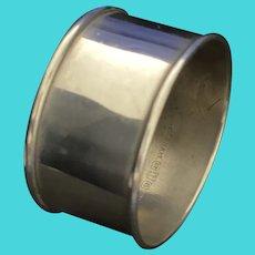 Sterling plain napkin ring by Gorham