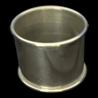 Sterling Towle plain napkin ring