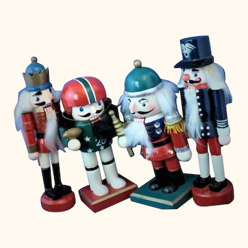 Vintage nutcrackers for the holidays