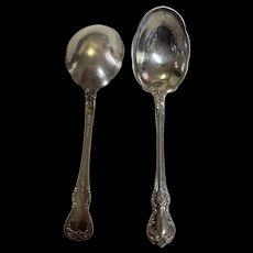 Old Master by Towle sugar spoon