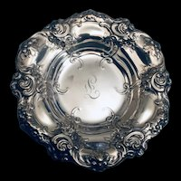 Trinket dish in sterling by Gorham