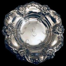 Trinket dish in sterling by Gorham