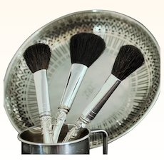 Cosmetic Vanity powder brush in Strasbourg by Gorham