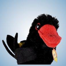 Little Brother Steiff Hucky Raven Bird All ID
