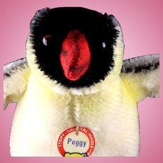 Little Sister Steiff Peggy Penguin Bird ID