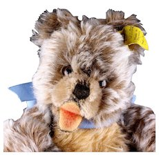 Little Brother Steiff 5xJointed Zotty Teddy Bear Cub Happy Open Mouth 2 IDs