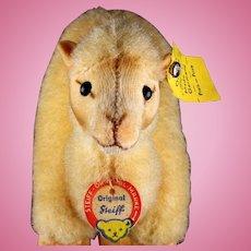 Rare Steiff Tiny Sister Wool Plush Camel Dromedary All ID