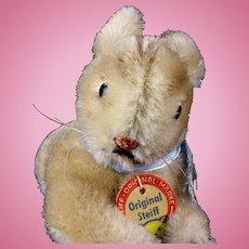 Tiny Brother Steiff Lieg Hase Lying Bunny Rabbit ID