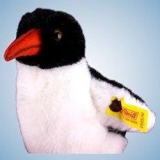 Little Sister Fuzzy Sparkling Steiff Peggy Penguin Bird 2 IDs