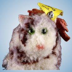 Oldest Model Teeny Tiny Steiff Wool Miniature PomPom Cat Kitten All ID