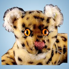 Rare Gorgeous Coloring Little Brother Steiff Ocelot Wild Cat ID