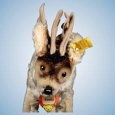 Big Brother Steiff Renny Reindeer All ID