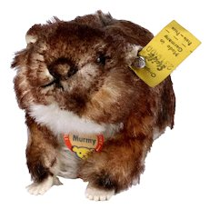 Little Brother Rare Steiff Murmy Marmot (Squirrel Cousin) All ID Beautiful Coloring 1960-1964 ONLY