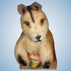 Rare Steiff MALE Kangoo Kangaroo (no pouch) ID