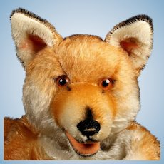Rare Gorgeous Steiff Red Fox Hand Puppet ID