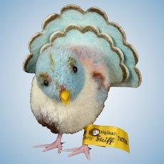 Steiff Wool Miniature Pom Pom Pigeon Dove Taube Bird All ID