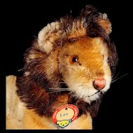 Adorable Tiny Brother Seated Steiff Leo Lion ID