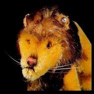 Teeny Tiny Brother Steiff Standing Leo Lion ID