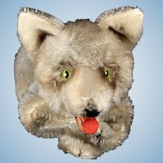 Rare Steiff Loopy Wolf Hand Puppet ID