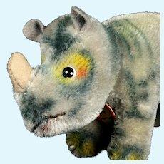 Tiny Brother Steiff Nosy Rhinoceros Amazing Coloring ID