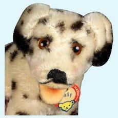 Tiniest Size and Earliest Model Steiff Dally Dalmatian Puppy Dog All ID Near Mint