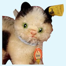 Little Sister Rare Steiff Gussy Kitten Cat All ID
