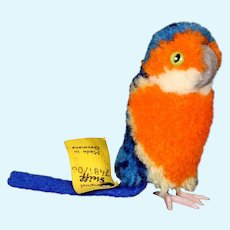 Steiff Colorful Wool Miniature Parrot PomPom Bird All ID