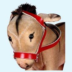 Rare Tiny Brother Steiff Velvet(een) Esel Donkey ID