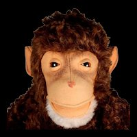 Large 5xJointed Steiff Jocko Chimpanzee (NOT Monkey) ID